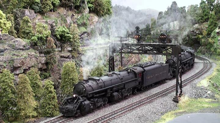 Part II Spectacular model train action