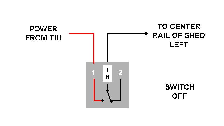 untitled the diagram below shows how to wire the single power wire through the normally open conncetion of the aiu the ground wire can be wired directly to the