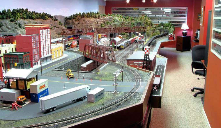 Model Train Room Ideas